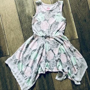 Faded Glory Girls 6/6x Floral Dress